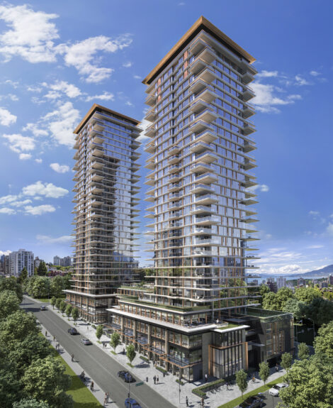 Landmark on Robson takes a stellar site in downtown Vancouver.