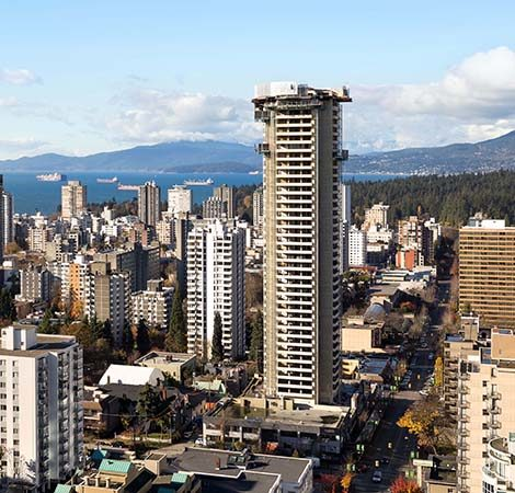 Tallest Demolition in Vancouver History.
